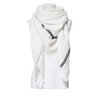 RUSTIC LINEN SCARF WITH STRIPE - Scarves - Accessories - Woman - ZARA United States