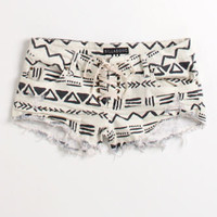 Billabong Lace Up Tribal Shorts at PacSun.com