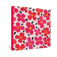DENY Designs Home Accessories | Garima Dhawan Dogwood Berry Gallery Wrapped Canvas