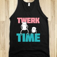 Twerk Time (Dark) - DIRTY TEES - Skreened T-shirts, Organic Shirts, Hoodies, Kids Tees, Baby One-Pieces and Tote Bags