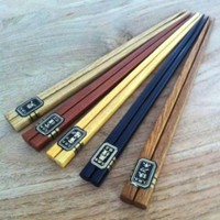 5pcs Japanese Bamboo Chopstick Gift Set