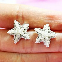 Starfish Pearl Fashion Earrings | LilyFair Jewelry