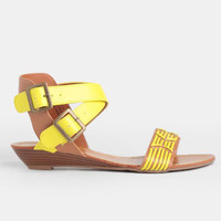 Wanderlust Ankle Strap Sandals - $34.00 : ThreadSence, Women's Indie & Bohemian Clothing, Dresses, & Accessories