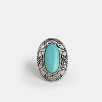 Stevie Turquoise Ring - $10.00 : ThreadSence, Women's Indie & Bohemian Clothing, Dresses, & Accessories