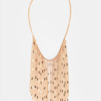 Dripping in Gold Necklace - $18.00 : ThreadSence, Women's Indie & Bohemian Clothing, Dresses, & Accessories