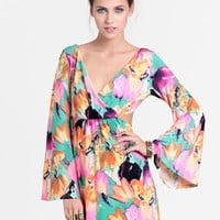 Impassioned Cutout Bell Sleeve Dress - $45.00 : ThreadSence, Women's Indie & Bohemian Clothing, Dresses, & Accessories