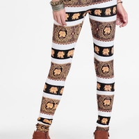 Pride Lands Printed Leggings By MINKPINK - $56.00 : ThreadSence, Women's Indie & Bohemian Clothing, Dresses, & Accessories
