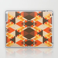 Orange Maze Laptop &amp; iPad Skin by VessDSign