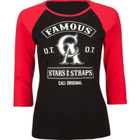 FAMOUS Stars &amp; Straps Threaded Womens Baseball Tee 212910126 | Tops | Tillys.com