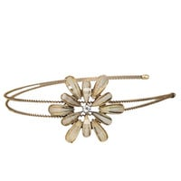 Shimmer Flower Metal Headband | Shop Accessories at Wet Seal