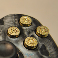 Xbox 360 9mm Bullet Buttons BRASS with Brass Primers hand made