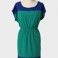 Veronica Colorblocked Curvy Plus Dress at ShopRuche.com