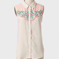 Montana Flora Embroidered Blouse at ShopRuche.com