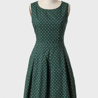 Petit Trianon Polka Dot Dress at ShopRuche.com