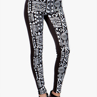 Tribal Inset Scuba Legging