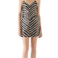 Parker Chevron Sequin Dress | SHOPBOP