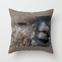 HAVE YOU HEARD THE ONE ABOUT.... Throw Pillow by catspaws