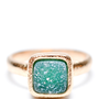 Geo Drusy Ring in Aquatic | LEIF