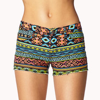 Tribal Print Denim Cut Offs | FOREVER 21 - 2057501943