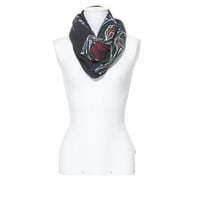 SCARF WITH PRINTED TIGER FACES - Scarves - Accessories - Woman - ZARA United States