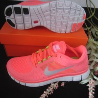 Wmns Nike  Free Run 3 Womens Running Shoes hot pink us5.5, 6.5,7.8