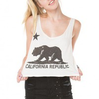 Brandy ♥ Melville |  Mirella CA Bear Tank - Just In