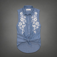 Madeline Chambray Shirt