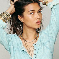 We The Free   Urban Cowgirl Henley at Free People Clothing Boutique