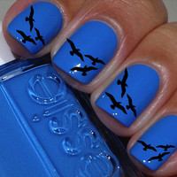 Flyaway Birds Nail Decals 36 Ct.