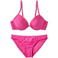 Xhilaration® Junior's Push Up 2-Piece Swimsuit -Pink