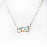 Papaya Clothing Online :: BEADED BOW NECKLACE
