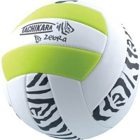 Tachikara Zebra Print Volleyball - Volleyball.Com