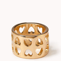 Cutout Hearts Ring | FOREVER 21 - 1055199802