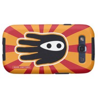 Super Ninja Hand Samsung Galaxy SIII Cover from Zazzle.com