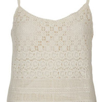 Crochet Cami - Tops  - Clothing