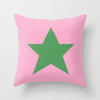 Star Throw Pillow by Project M