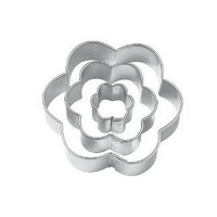 Wilton Set of 3 Flower Cut Outs:Amazon:Kitchen & Dining