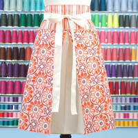 Half Apron AtomicAprons by atomicaprons on Etsy