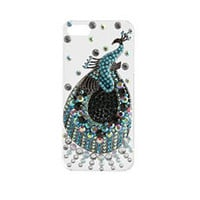 Rhinestone Peacock IPhone 5 Case: Charlotte Russe