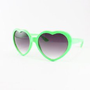 Amazon.com: New Neon Lolita Heart Shaped Funky Sunglasses - (4 Colors Available), Lime: Clothing