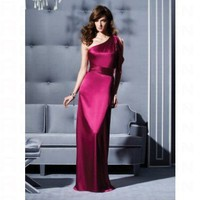 Fabulous One Shoulder Sheath Bridesmaid Dress 2794 - Wedding Party Dresses - Apparel