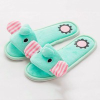 Cute Elephant Indoor Slipper