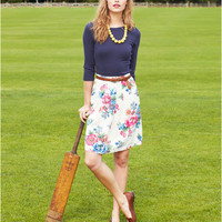 Crmposy Eloise Womens Printed Skirt  | Joules UK