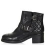 ADELAIDE Quilted Biker Boots - New In This Week  - New In