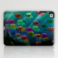 Swim On By iPad Case by Ben Geiger