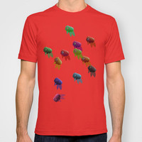 Swim On By T-shirt by Ben Geiger