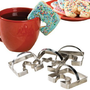 Coffee Cup Cookie Cutters, Set of 4 by WalterDrake:Amazon:Kitchen & Dining