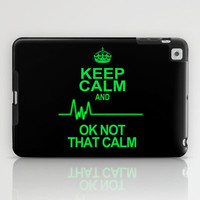 Keep Calm iPad Case by Alice Gosling