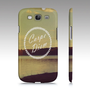 "Samsung Galaxy S3 Covers - iPhone 5,4,4s Case ""Carpe Diem"""