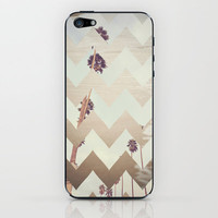 Oasis - Beach Chevron iPhone & iPod Skin by CMcDonald